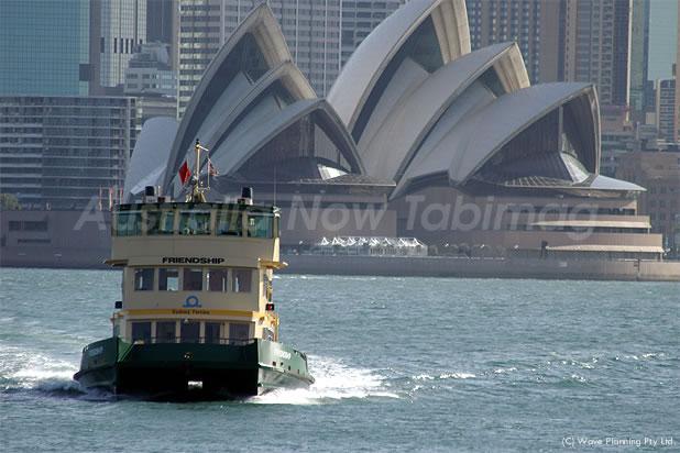 シドニー市内の交通