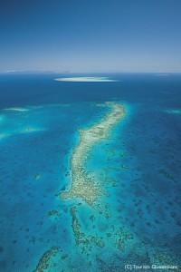 世界最大の珊瑚礁グレートバリアリーフ