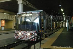 シドニー西部を結ぶ路面電車ライトレール
