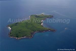 グレートバリアリーフのリゾートアイランド(島)