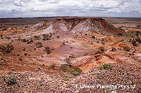 南オーストラリア州のアウトバック ブレイクアウェイズ・リザーブ