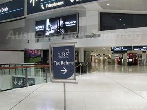 旅行者が税金還付を申請できるTRS