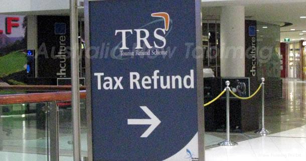 オーストラリアの税金還元について