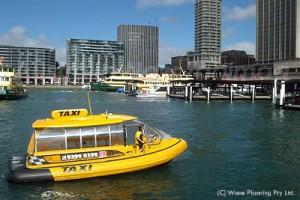 シドニーの水上タクシー
