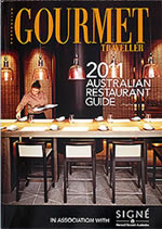 グルメトラベラー誌が発行するレストランガイド
