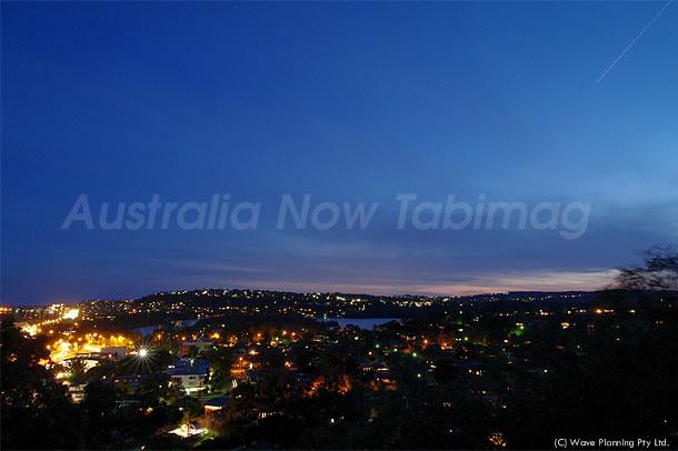 シドニー郊外の?万ドルの夜景  2010年10月5日