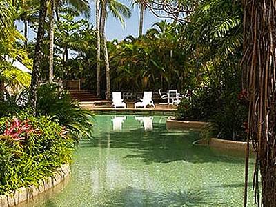 プールやテニスコートなどが充実したリッジス・エスプラネード・リゾート