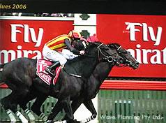 日本馬が1,2着となったメルボルンカップ2006