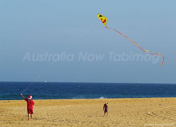 シドニーでは…クリスマスには凧揚げて~♪ 2010年12月25日