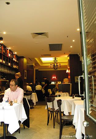 シドニーのカフェ: バンビーニ・トラスト・カフェ