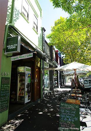 シドニーのカフェ: オー・オーガニック・カフェ