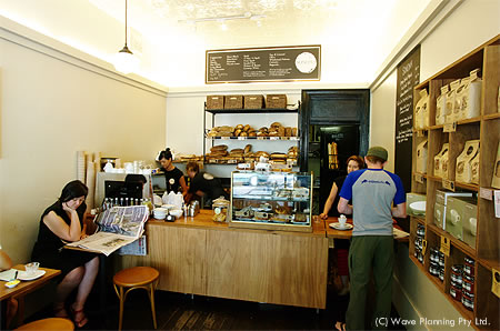 シドニーのカフェ: ソノマ・ベーカリー・カフェ