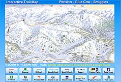 ペリッシャー・スキー場ゲレンデマップ