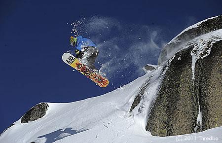 スノーボーダーにも人気が高いスレドボ