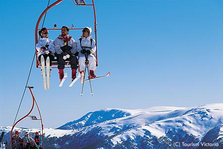 メルボルンはスキー場への便利なゲートウェイ