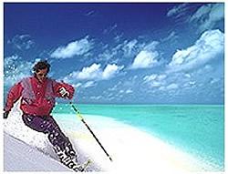 スキーとビーチを一度に楽しめるオーストラリア
