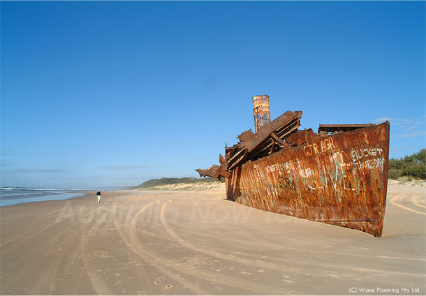 サンシャインコースト、在りし日のレインボービーチ 2011年6月27日