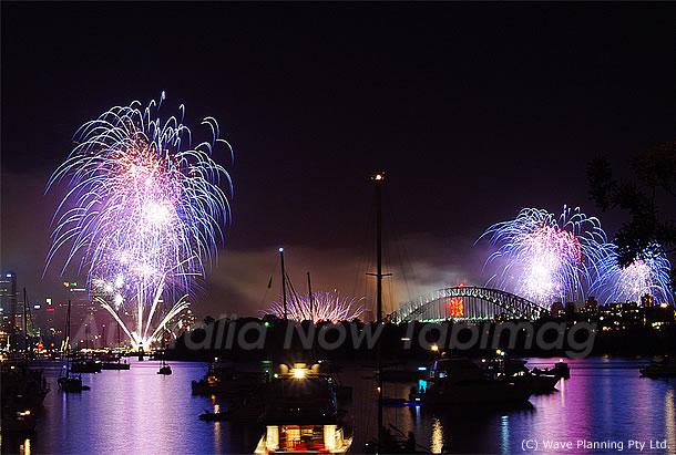 世界一!シドニー湾年越し花火大会をiphoneで先取り