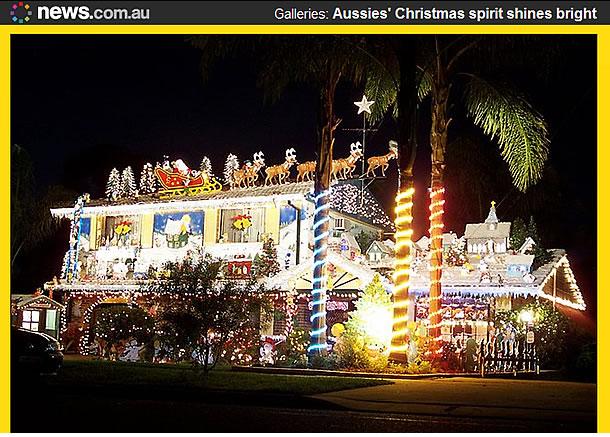 オーストラリア 真夏のクリスマス2011