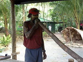 アボリジニの楽器「ディジュリドゥ」
