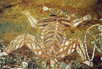 カカドゥの見どころ:アボリジニ壁画
