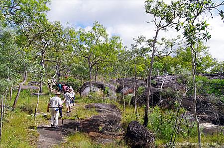オーストラリア最北部の町クックタウン郊外にあるアボリジニの聖地