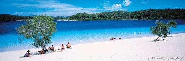 【オーストラリアの世界遺産)フレーザー島
