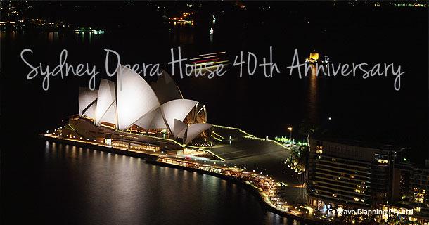 シドニー オペラハウス 40周年