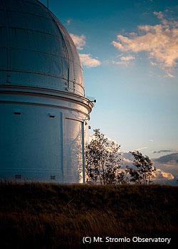キャンベラのマウントストロムロ天文台