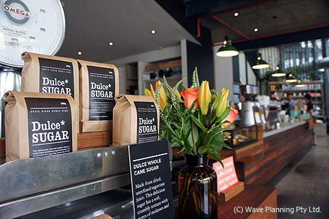 プラーランマーケットにあるマーケットレーンコーヒー