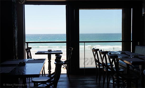 マンリーのビーチサイド・カフェレストラン「パントリー」