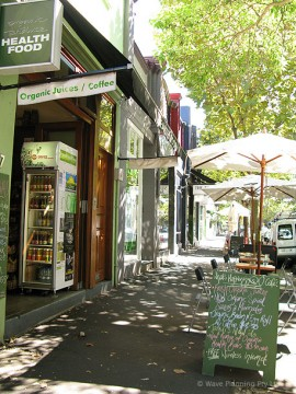 サリーヒルズにあるオー・カフェの本店