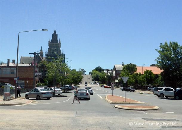 歴史あるゴールバーンの町
