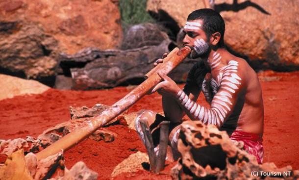 この地で育まれてきたアボリジニ文化も世界遺産