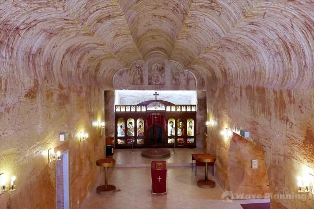 クーバーペディの新名所ともいえる「セルビア正教会」