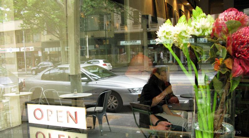 インテリアがステキなメルボルンのカフェ