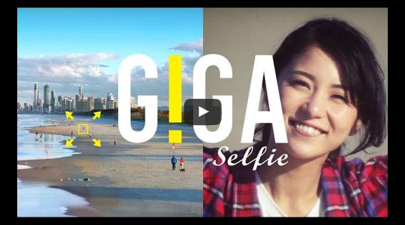 GIGA Selfie 世界最大の自撮り「ギガ・セルフィー」