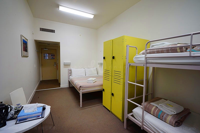 シドニーハーバーYHAのファミリールーム