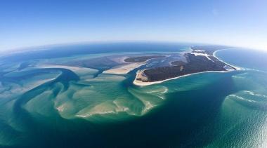 世界で三番目に大きな砂島・モートン島