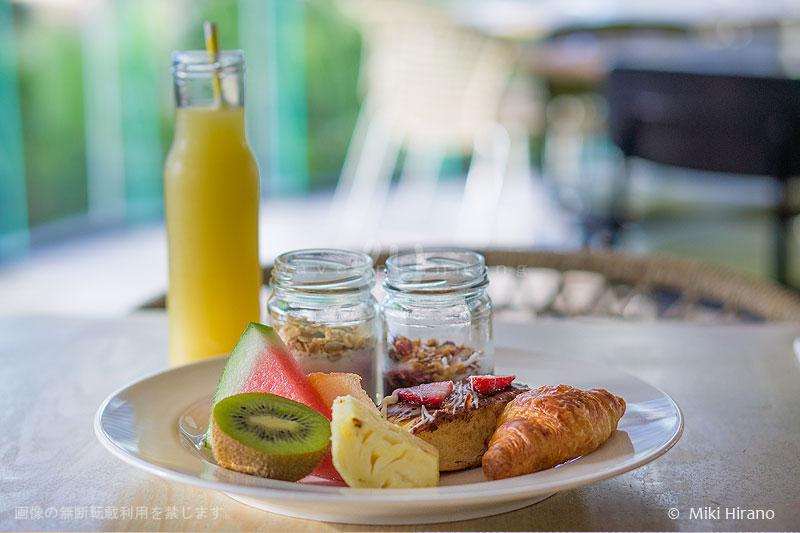QTゴールドコーストの朝食でハッピーな一日