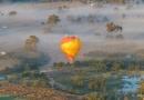 ゴールドコーストが最も美しく輝くマジック・アワーを熱気球で体験!