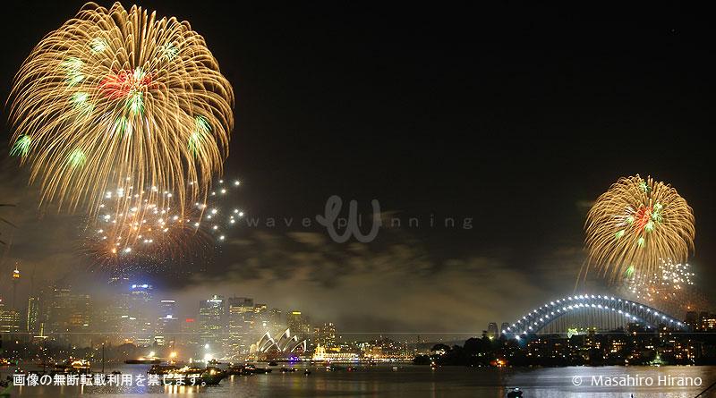 シドニー湾年越し花火