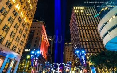 マーティンプレイスの光の柱 / ビビッド・シドニー2016