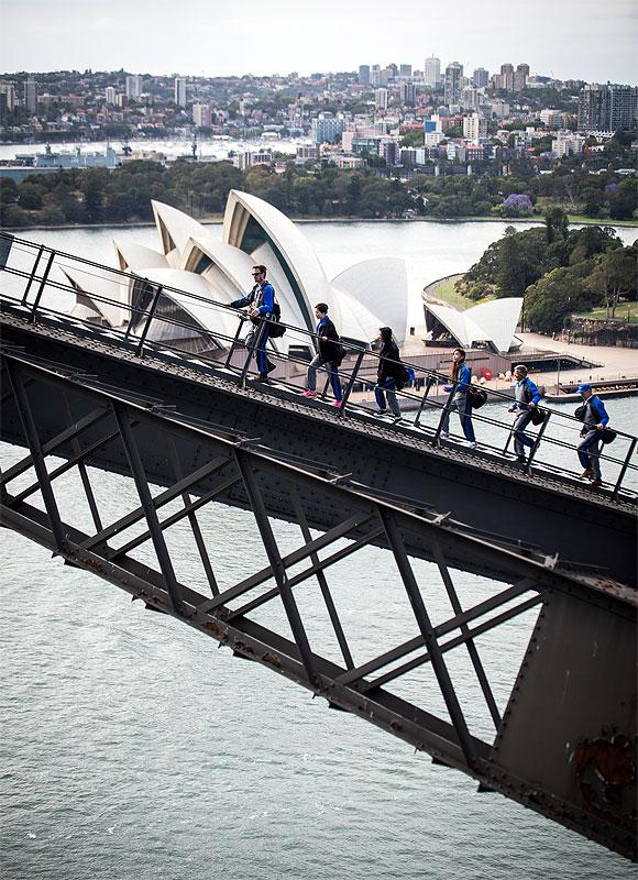 シドニーの絶景が愉しめるブリッジクライム