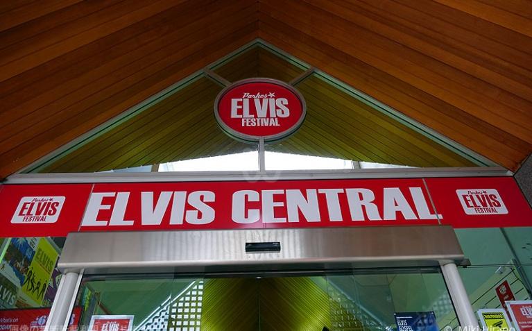 エルビス・フェスティバルのインフォメーション