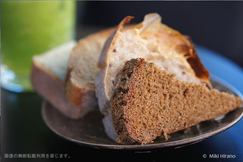 ブレッド・イン・コモン自慢のパン盛り合わせ
