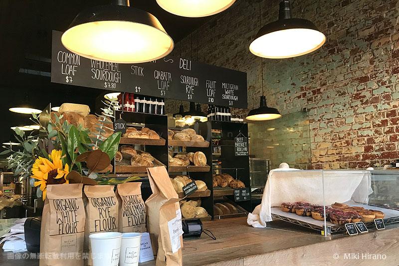 店の一角にあるパン屋さんコーナー