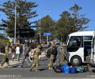 カンガルー島には今もまだ多くの予備兵たちが支援に入っている(2020/1/29撮影)