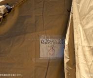 仮設コアラ病院のリカバリー施設となっているテント(2020/1/29撮影)